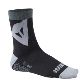RIDING SOCKS MID BLACK/GREY