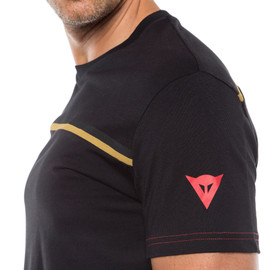 FAST-7 T-SHIRT BLACK/GOLD