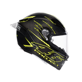 PISTA GP R TOP ECE DOT - PROJECT 46 3.0 CARBON