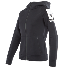 DAINESE FULL-ZIP SWEATSHIRT LADY BLACK