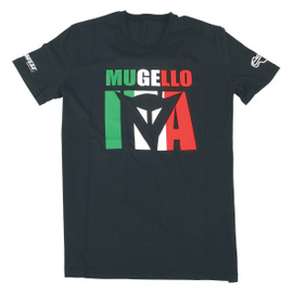 MUGELLO D1 T-SHIRT BLACK