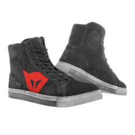 STREET BIKER D-WP® CARBON-DARK/RED
