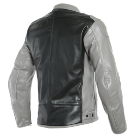 BARDO LEATHER JACKET SMOKE/BLACK- Leder