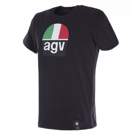 AGV 1970 T-SHIRT BLACK- undefined