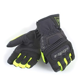CLUTCH EVO LADY D-DRY GLOVES BLACK/FLUO-YELLOW