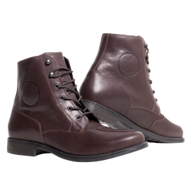 SHELTON D-WP SHOES DARK-BROWN- D-WP®