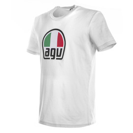 AGV T-SHIRT WHITE