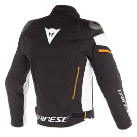 RACING 3 D-DRY JACKET BLACK/VAPOR-BLUE/RED-ORANGE- D-Dry®