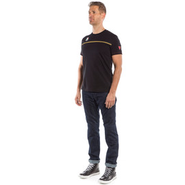 FAST-7 T-SHIRT BLACK/GOLD- T-Shirts
