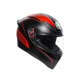 K1 MULTI ECE2205 - WARMUP MATT BLACK/RED