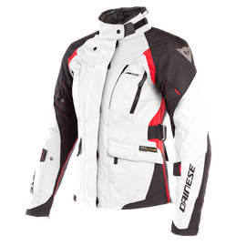 X-TOURER D-DRY LADY JACKET LIGHT-GRAY/BLACK/TOUR-RED- D-Dry®