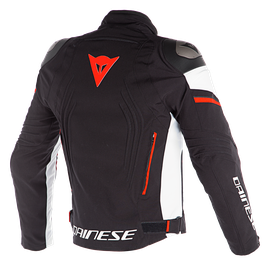 RACING 3 D-DRY JACKET BLACK/WHITE/FLUO-RED- D-Dry®