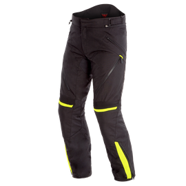 TEMPEST 2 D-DRY PANTS BLACK/BLACK/FLUO-YELLOW
