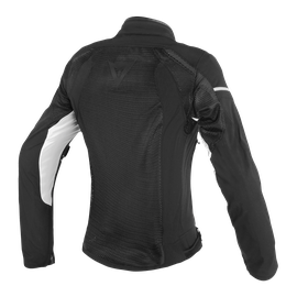 AIR FRAME D1 LADY TEX JACKET BLACK/BLACK/WHITE