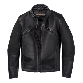 PRIMA72 PERF. LEATHER JACKET  BLACK- Dainese72