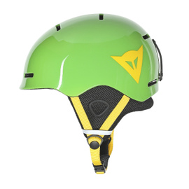 B-ROCKS HELMET EDEN-GREEN/LEMON-CHROME- Casques