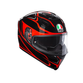 K-5 S AGV E2205 MULTI PLK - MAGNITUDE BLACK/RED - undefined