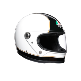 X3000 MULTI ECE2205 - SUPER AGV BLACK/WHITE