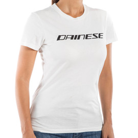 DAINESE LADY T-SHIRT WHITE/BLACK