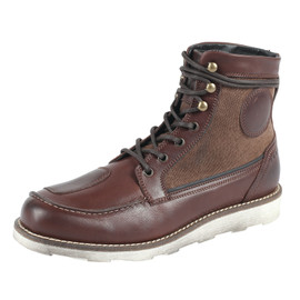 WALKEN SHOES DARK-BROWN/BROWN