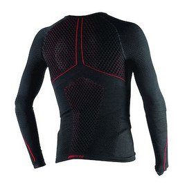 D-CORE THERMO TEE LS BLACK/RED