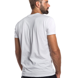 RACER-PASSION  T-SHIRT WHITE/ANTHRACITE- Casual Wear