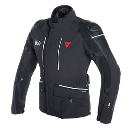 CYCLONE D-AIR JACKET BLACK/WHITE