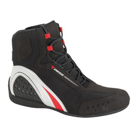 MOTORSHOE D-WP® BLACK/WHITE/RED- D-WP®