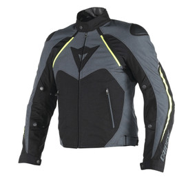HAWKER D-DRY® JACKET BLACK/EBONY/FLUO-YELLOW