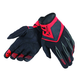 PADDOCK GLOVES BLACK/RED