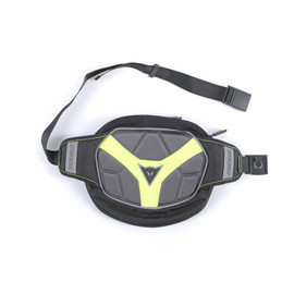 D-EXCHANGE POUCH L BLACK/ANTHRACITE/FLUO-YELLOW
