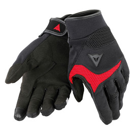 DESERT POON D1 UNISEX GLOVES  BLACK/RED
