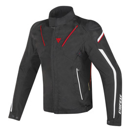 STREAM LINE D-DRY® JACKET BLACK/RED/WHITE