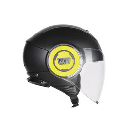 FLUID E2205 MONO - MATT BLACK/YELLOW