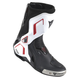 TORQUE D1 OUT AIR BOOTS BLACK/WHITE/LAVA-RED- Leder