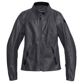 DJANET LADY LEATHER JACKET EBONY