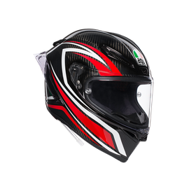 PISTA GP R E2205 MULTI - STACCATA CARBON/RED