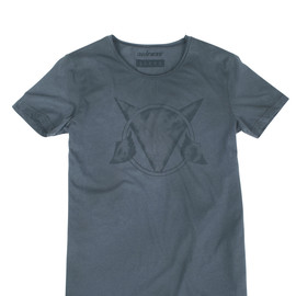 SCRAWL T-SHIRT ANTHRACITE