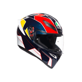 K1 MULTI ECE DOT - PITLANE BLUE/RED/YELLOW