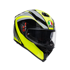 K-5 S E2205 MULTI - TYPHOON BLACK/GREY/YELLOW FLUO