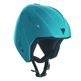 SNOW TEAM JR EVO HELMET BRIGHT-AQUA