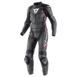 AVRO D1 2 PIECE LADY SUIT BLACK/BLACK/FUCHSIA