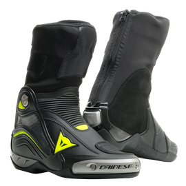 AXIAL D1 BOOTS BLACK/YELLOW-FLUO