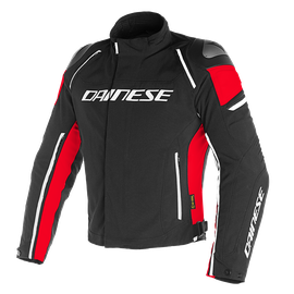 RACING 3 D-DRY JACKET BLACK/BLACK/RED