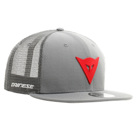 DAINESE 9FIFTY TRUCKER SNAPBACK CAP  GREY/RED