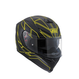 K-5 S E2205 MULTI - HERO BLACK/YELLOW FLUO