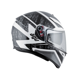 K-3 SV AGV E2205 MULTI PLK - PULSE WHITE/BLACK/GUN METAL - undefined