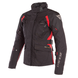X-TOURER D-DRY LADY JACKET BLACK/BLACK/TOUR-RED