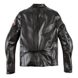 RAPIDA72 PERF. LEATHER JACKET BLACK- Dainese72