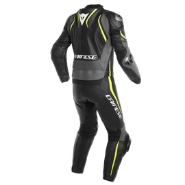 LAGUNA SECA 4 2PCS SUIT BLACK/CHARCOAL-GRAY/FLUO-YELLOW- Deux Pieces